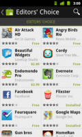 Android Market Editor's Choice