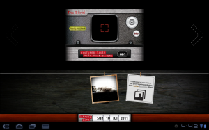 retro camera picture tab