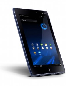 Acer Iconia Tab A100 Angle View