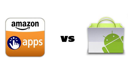 Amazon App Store vs Google Android Market [Survey]