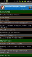 Androsensor Hardware Info