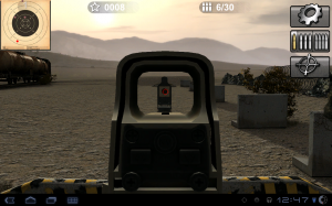 Arma II Firing Range Aim Down The Sight