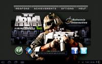 Arma II Title Screen