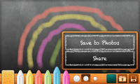 Bord - Save and Share options