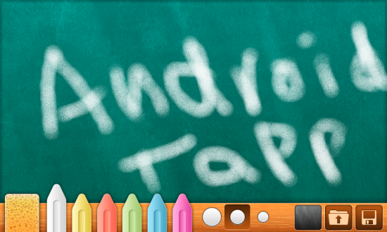 Bord Turns Your Droid into a Chalkboard… Great for the Kiddies