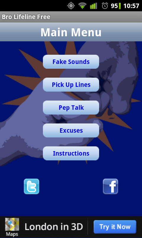 Bro Lifeline – the App for Excuses, Pep Talks, can even be a Wingman