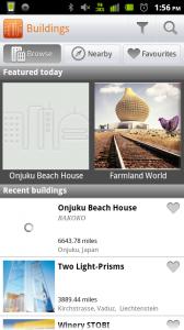 Buildings Main Screen