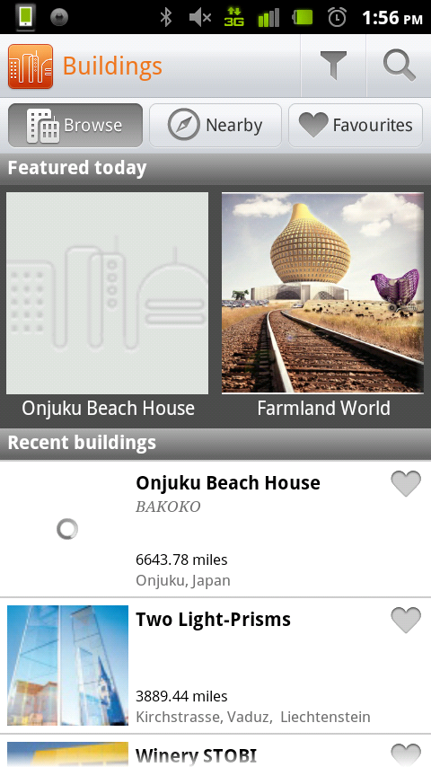 Buildings – the Application that lets You View Incredible Architecture Worldwide!