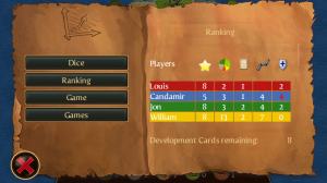 Catan Game Rankings