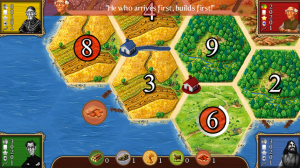 Catan Settlement Placement 2