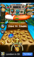 Coins vs Zombies Summer - Looks like you are about to win a crucifix. Hhmm.