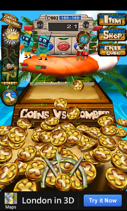 Coins Vs Zombies Summer – a Bright & Bizarre Zombie Shooter Thingamajig