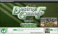 Destroy Gunners - Splash screen