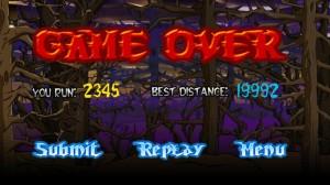 Devil Ninja Game Over