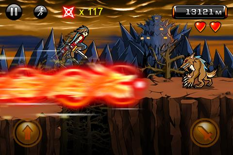 Devil Ninja Combines Typical Run and Jump Game with Shooter Twist