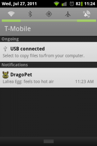 Drago Pet Notification