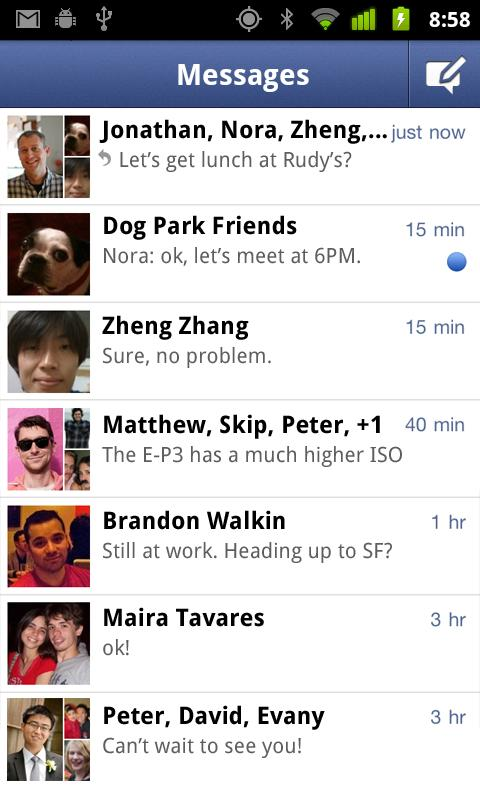 Facebook Messenger – Cool Instant Messenger, but apart from Main App… Why?