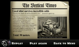 Falling Fred - Funny newspaper reports