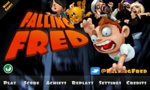 Falling Fred - Main menu