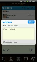 GO FBWidget - Status update