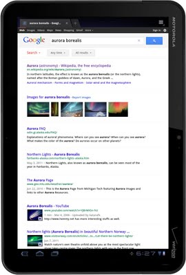 Google updates Search Experience for Tablets
