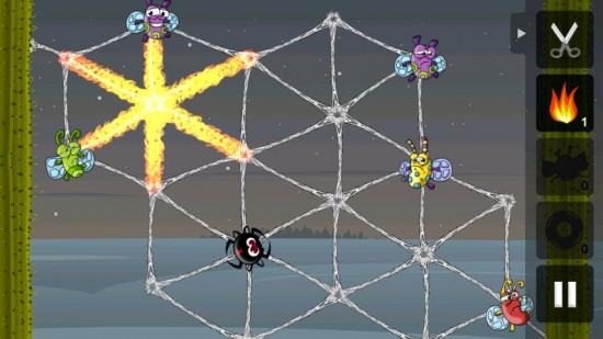 Greedy Spiders – Addictive & Challenging Strategy Game