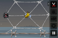 Greedy Spiders Level One Start