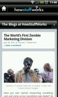 HowStuffWorks - Blog view