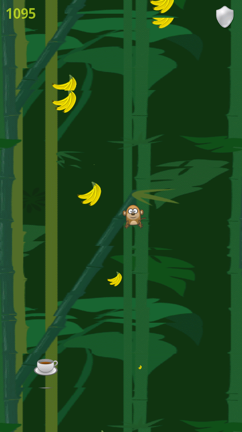 Hungry Monkey – Tilt & Jump to get the Mega Banana