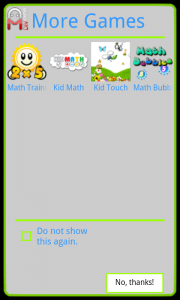 Kid TV - Ads to download other apps