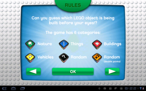 LEGO Creationary Rules