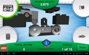 LEGO Creationary in Game Play 2