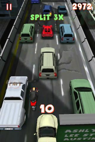 Lane Splitter – Tilt & Split the Highway at Blazing Speeds