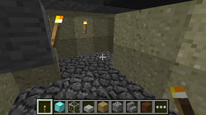 Minecraft Work Tunnel