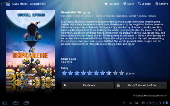 Mizuu Movies is the Video Management Android has been waiting for!