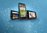 Motorola DEFY Plus in Water