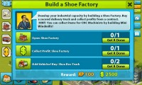 My Country - Building a shoe factory is apparently fundamental to the early growth of your country