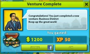 My Country - Gain $ and XP by completing ventures
