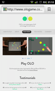 Olo - Link available to online instructions