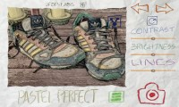 Paper Camera - In-app view, Pastel Perfect