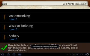 Parallel Kingdom Skills