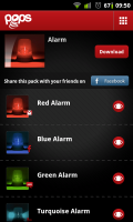 Pops - Alarm video choices