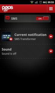 Pops - Individual notification settings