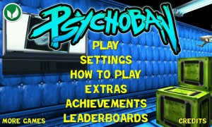Psychoban - Menu screen