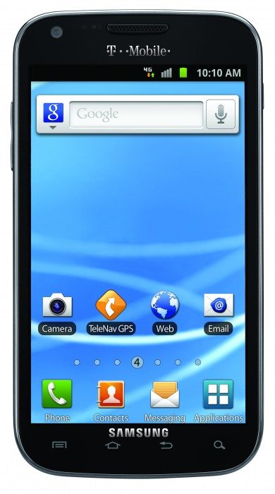 T-Mobile's Samsung Galaxy S II available pre-sale Oct. 10th, in stores Oct. 12th for $229.99 after rebate