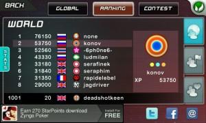 Stardunk - Online Rankings