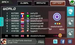 Stardunk - Online contest scores