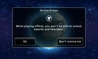 Stardunk - Online of offline games, although offline restricts progress and prizes