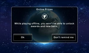 Stardunk - Online of offline games, although offline restricts progress and prizes
