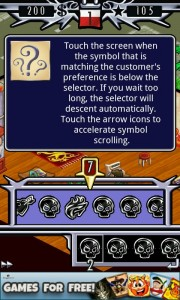 Tattoo Tycoon - Consultation screen